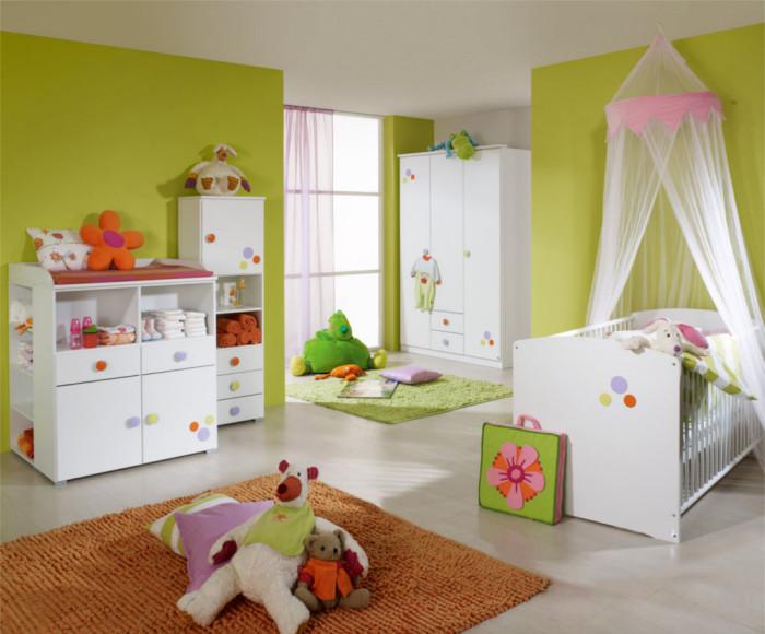 Une chambre de bébé bien aménager