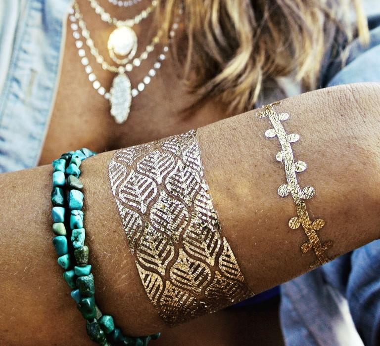 Le faux tatouage revient en force !2