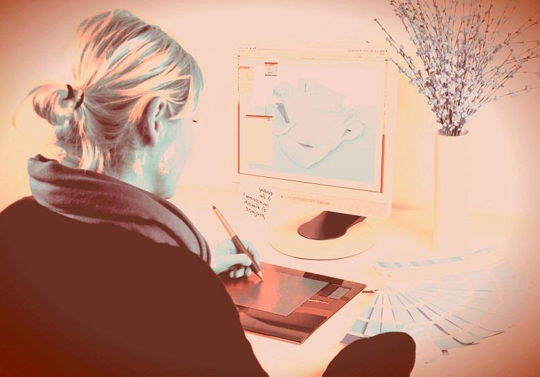 Designer graphique un créatif en phase avec son temps 3