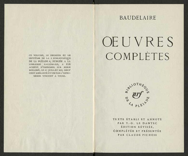 Livres de collection qu'est-ce que la Pléiade 4