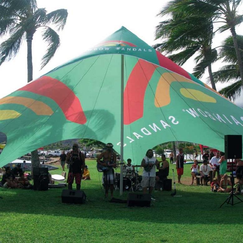 Booster sa communication avec les tentes publicitaires 3