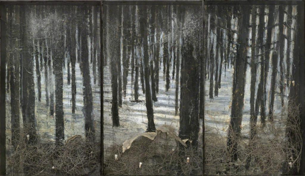 La gravure sur bois dans l'œuvre de Anselm Kiefer 1