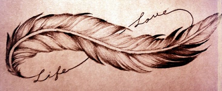 Le Tatouage Infini Plume Une Force D Appartenance