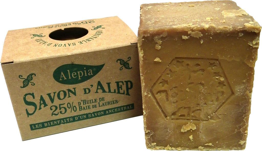 avoir la peau douce avec le savon d'alep