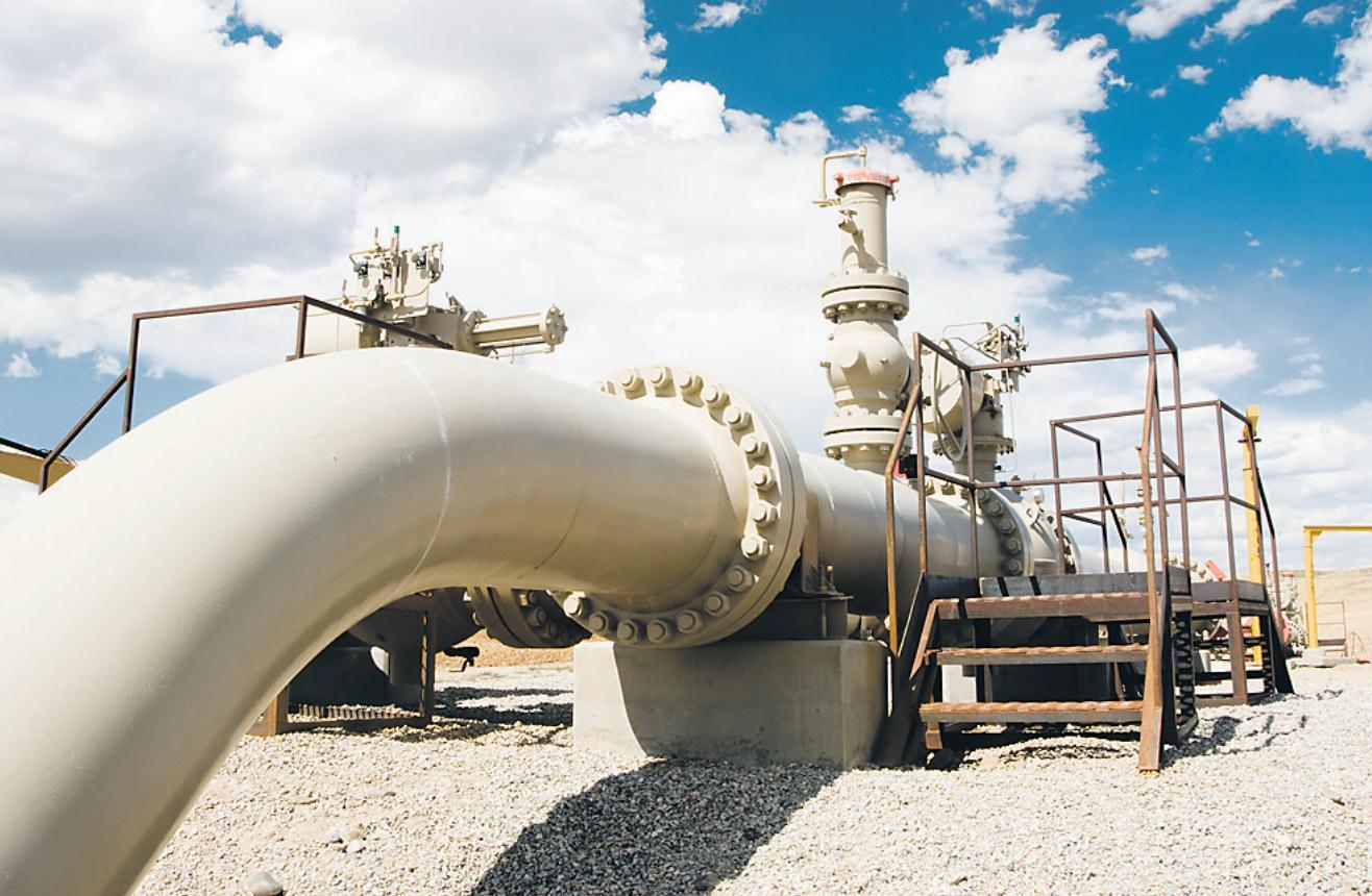 oleoduc et cours du petrole