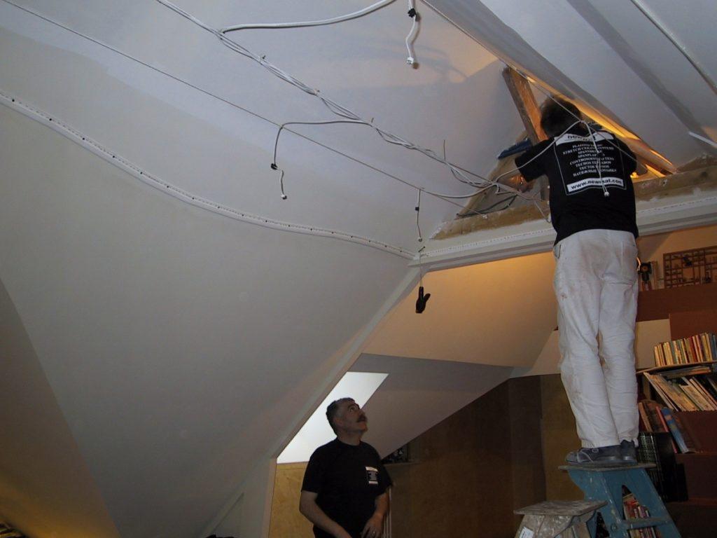 rénovation de plafond 2