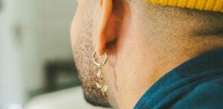 boucles d'oreille pour homme
