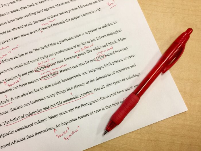 Faire corriger son manuscrit